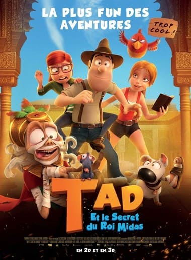 Tad et le secret du roi Midas FRENCH DVDRIP 2018